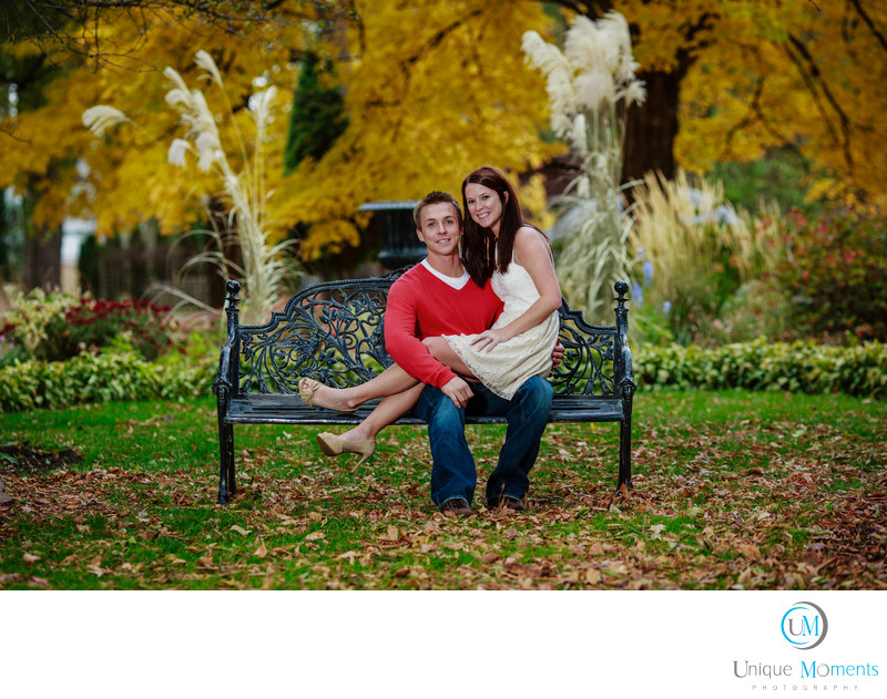 Washington Park Arboretum Fall Engagement Pictures