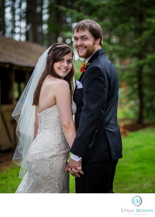 Best Outdoor Bridal Picture Frontier Park Graham Wa