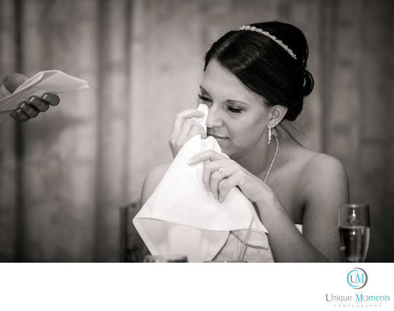 Tacoma Wedding Photographer Maid of Honor speech