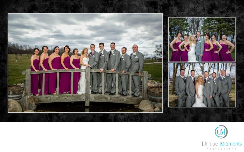 Gig Harbor Wedding Photographer,album spread 5, Amy