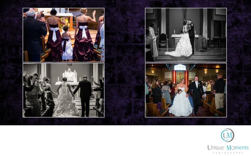 Tacoma Wedding Photographer, album spread 21, jared