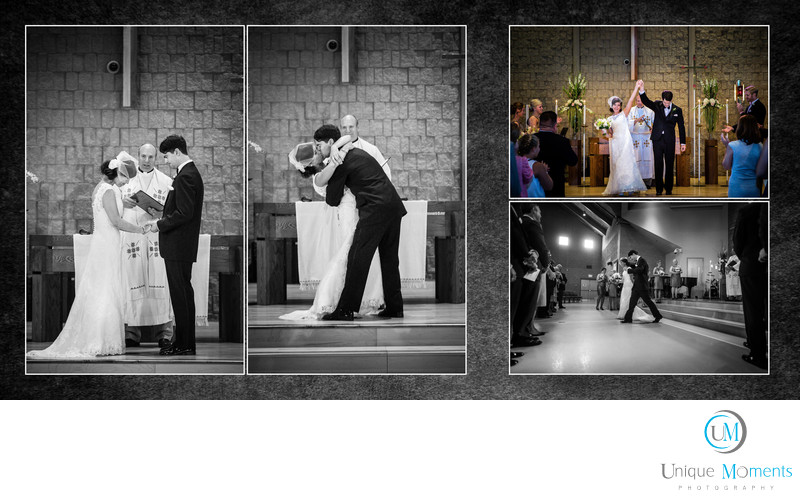 Gig Harbor wedding album sample
