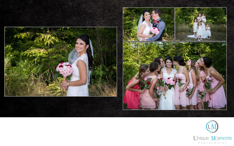 Gig Harbor Wedding Photographer, album sample 6, jaci