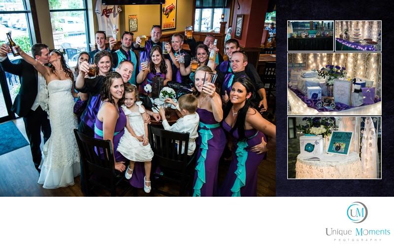 Tacoma Wedding Photographer, album spread 17 Kiri
