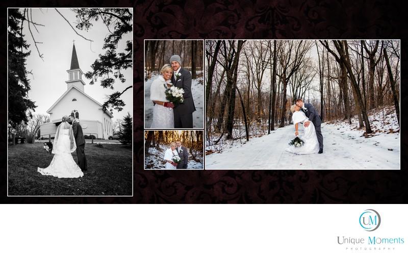 Unique Moments Photography Sample Album spread 45