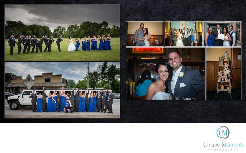 Gig Harbor Wedding Photographer Tina and Matt Album spread 14