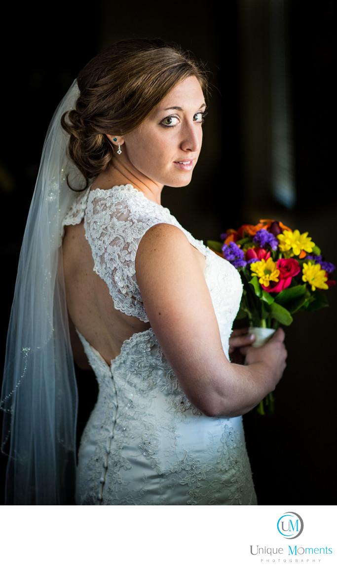 Gig Harbor Wedding Photographer Window Light Portraits