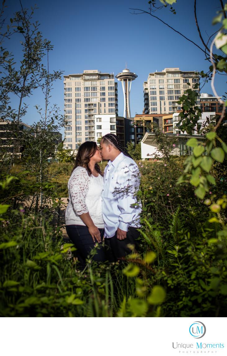 Olympic Sculpture Park Tacoma Wedding Photographer