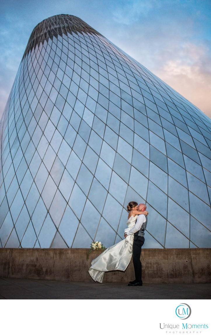 Museum of Glass Tacoma Wedding Photographer