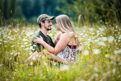 Best Wedding Photographer Gig Harbor Engagement Picture