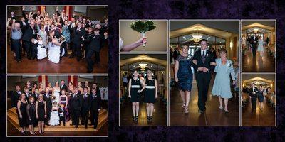 Tacoma Wedding Photographer Wedding album spread 12