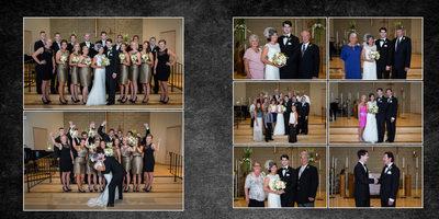 Gig Harbor Wedding Photographer, album sample, 11