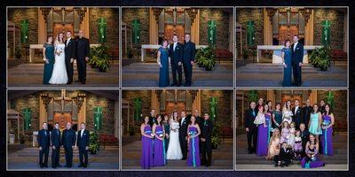 Gig Harbor Wedding Photographer Kiri and Greg Album spread 9