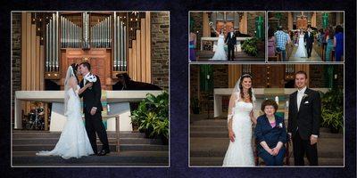 Gig Harbor wedding Photographer, Album spread 12, kiri