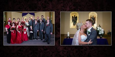 Tacoma Wedding Photographer Album spread 8 Stephanie