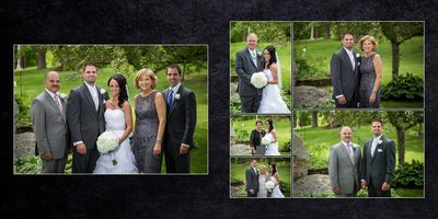 Gig Harbor photographer, Album Example, spread 8 Tina