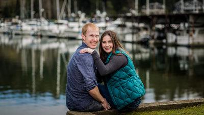 Tacoma Wedding Photographer Gig Harbor Engagement Session