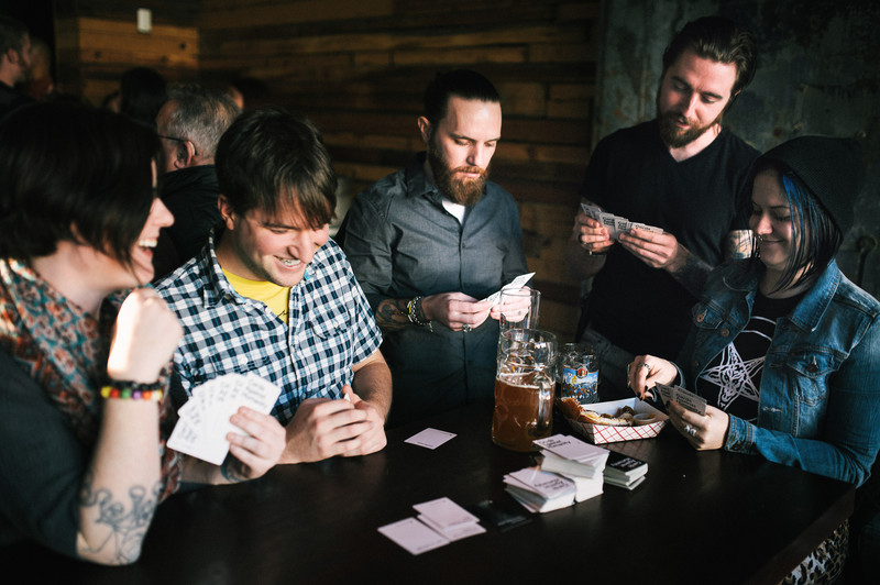 Frankford Hall Cards Against Humanity Engagement Photos