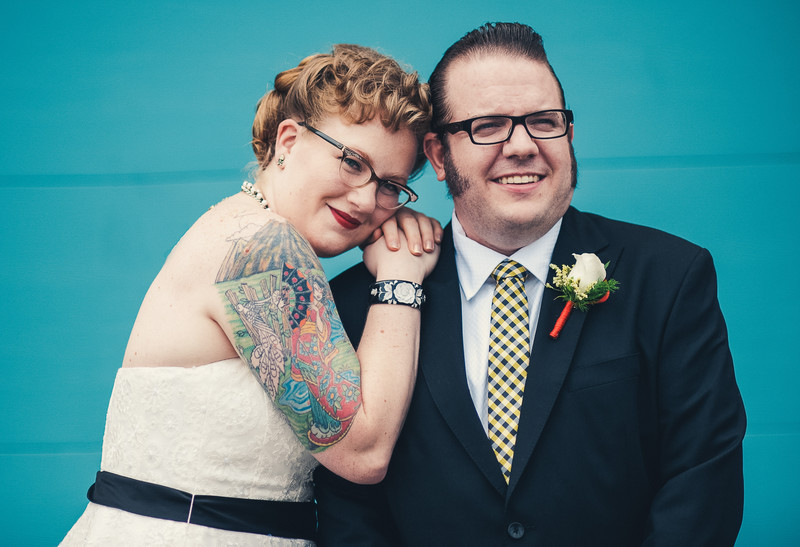 Tattooed Wedding