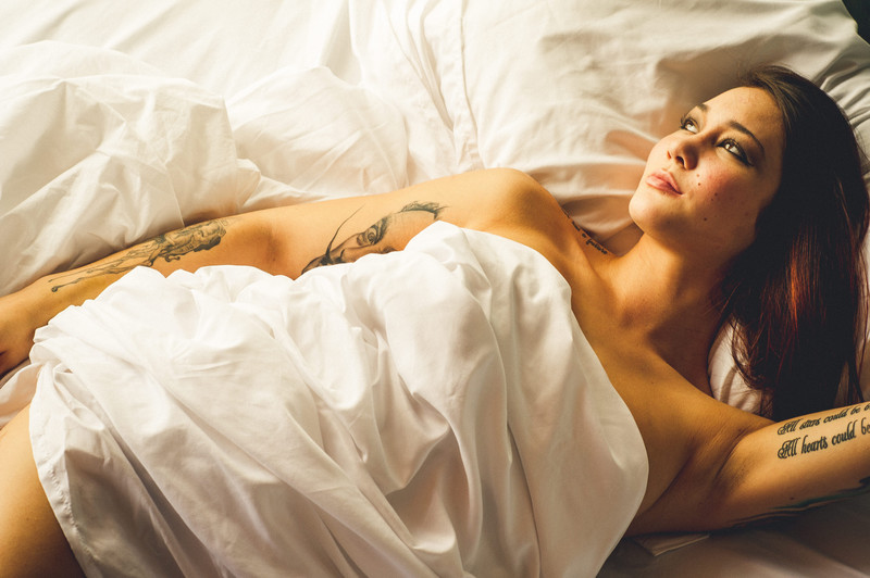 Tattooed Boudoir Photography