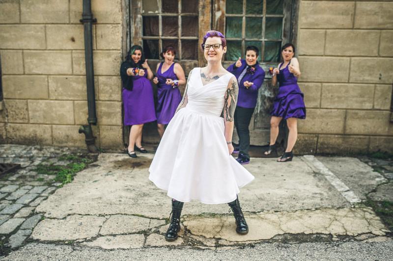 Tattooed Bride Eastern State