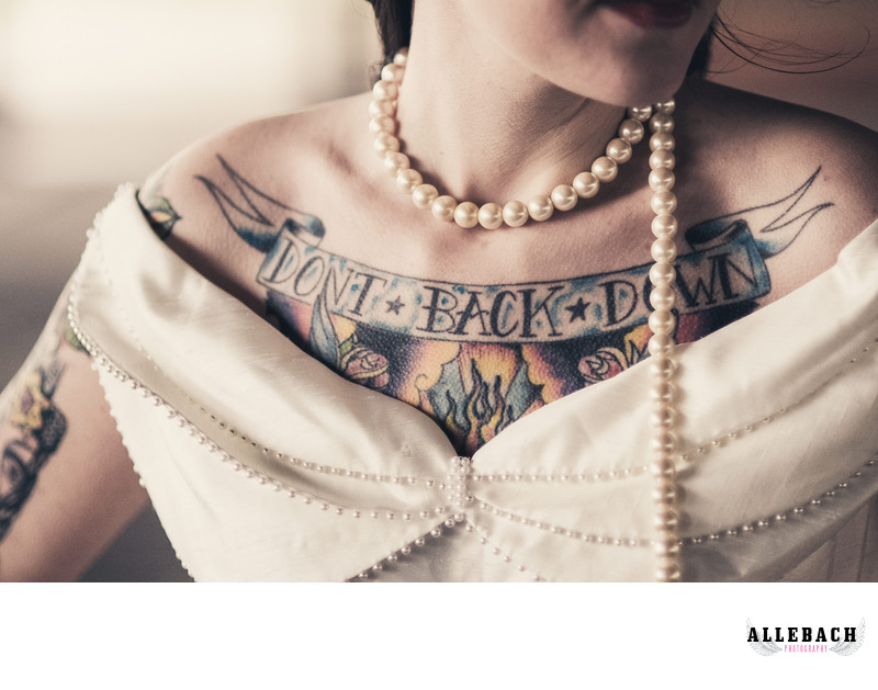 Philadelphia Tattooed Bride Photographer