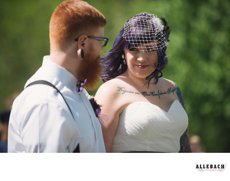 Bride and Groom Lancaster Pa Wedding