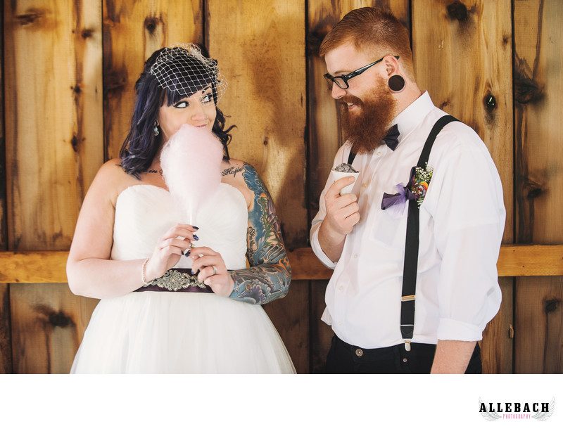 Wedding Day Cotton Candy