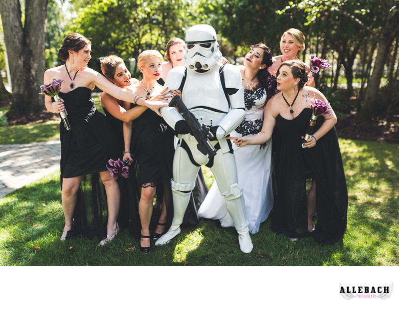 Storm Trooper Star Wars Wedding New Jersey