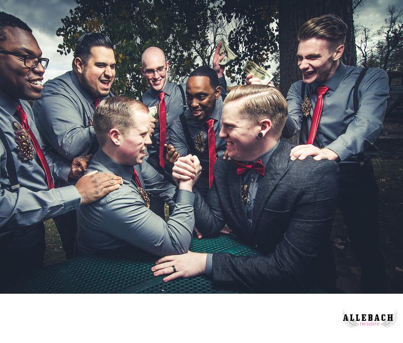 Groomsmen Hardstyle Grand Ledge Michigan Wedding