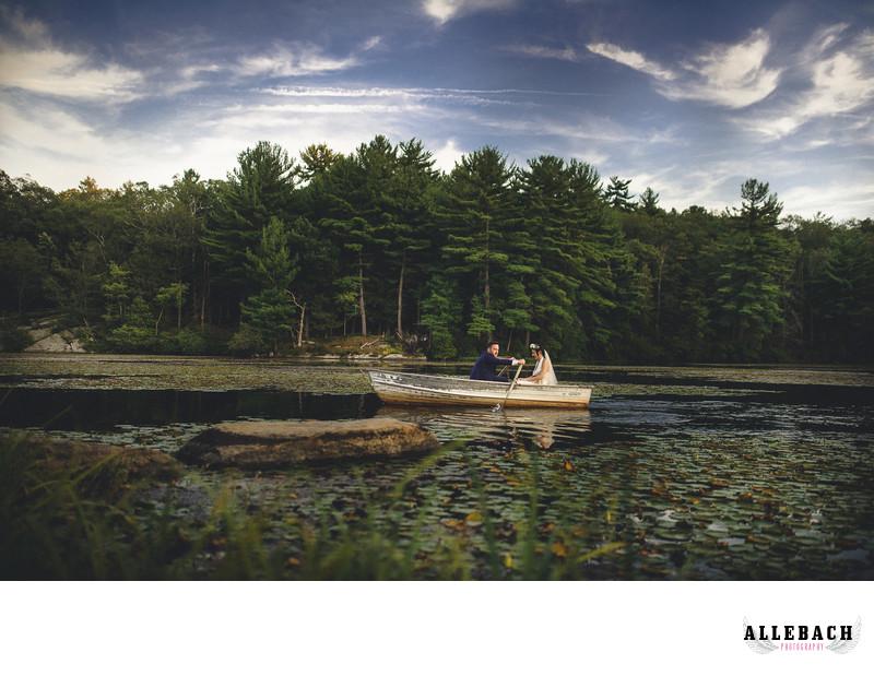 New York Scenic Lake Wedding