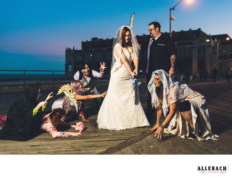 Asbury Park Zombie Wedding