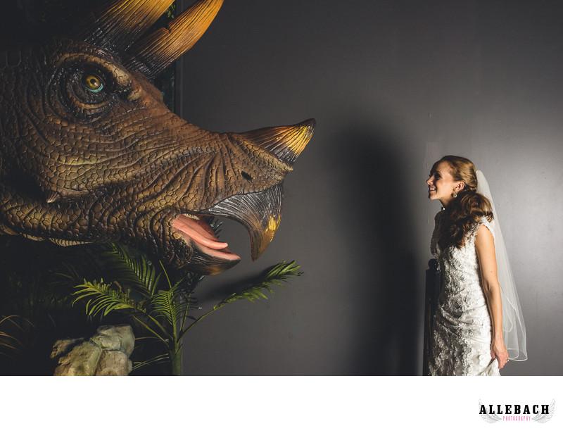 Offbeat Bride Dinosaur Wedding