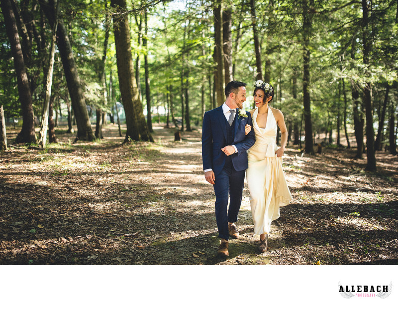 New York Wilderness Wedding Offbeat Bride
