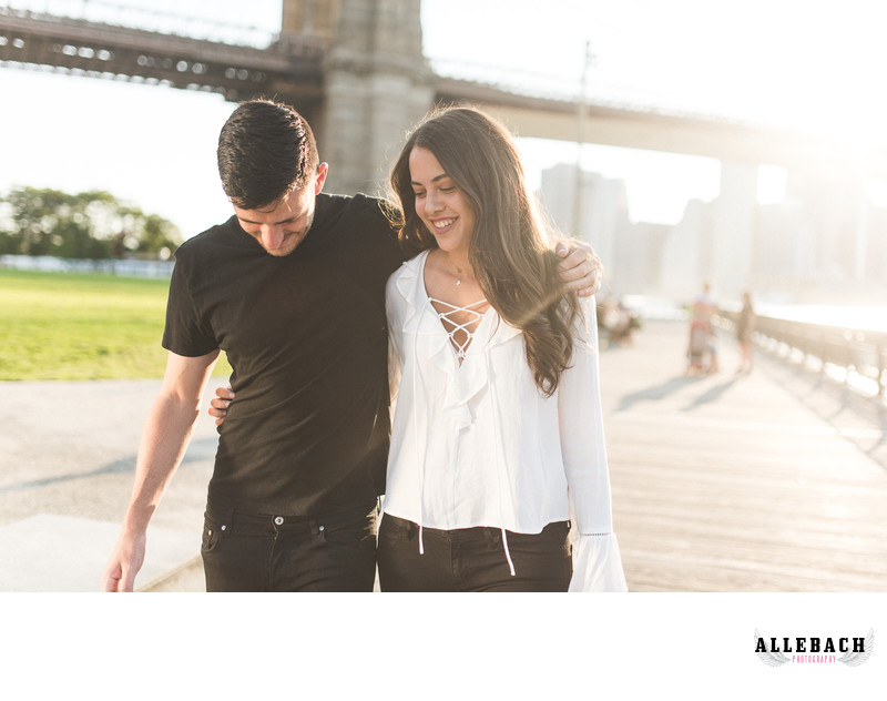 Brooklyn Engagement Session by Allebach Photography