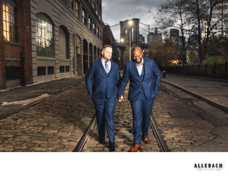 Best Gay Brooklyn Wedding in DUMBO
