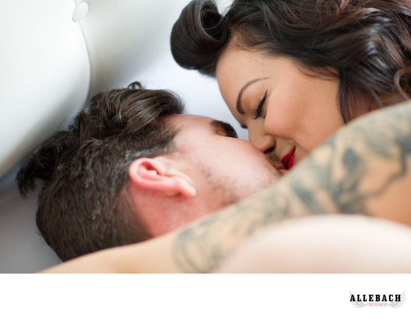 Philadelphia Couples Boudoir photographer