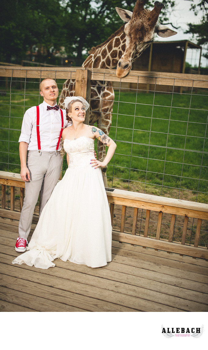 Elmwood Park Zoo Wedding Norristown