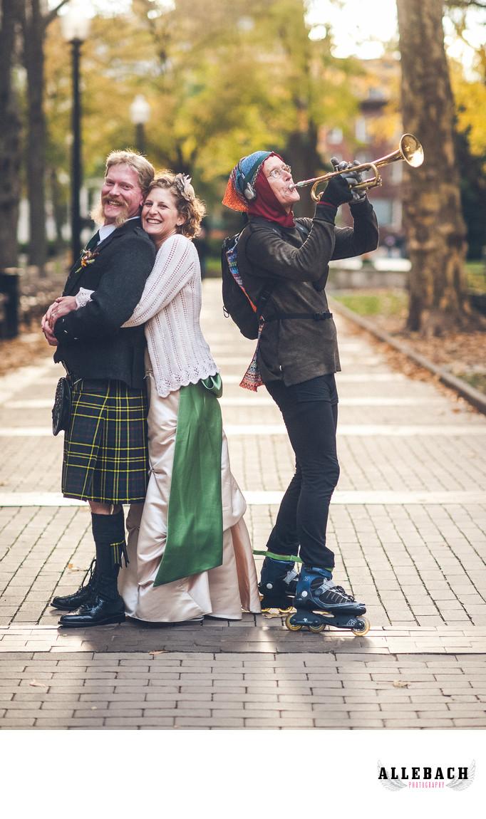 Philadelphia's Rittenhouse Square Wedding