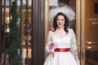 Tattooed Bride Philadelphia