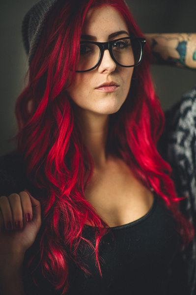Red Hair Boudoir