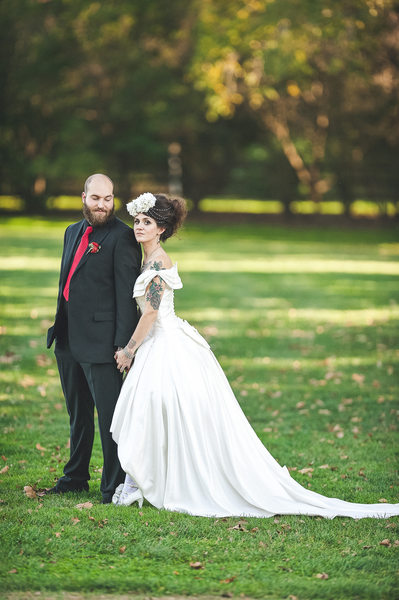 Philadelphia's Tattooed Bride & Groom Photographer