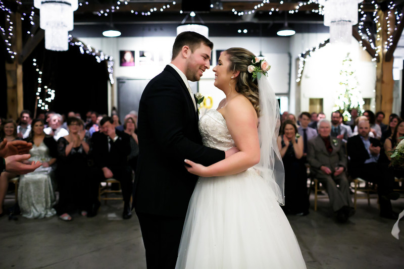 PEI Brewing Company Wedding ceremony