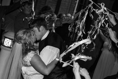 Wedding Send Off Kiss The Train Depot Hattiesburg, MS