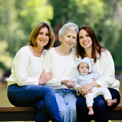 Four Generation Portrait Anna Epp Photography