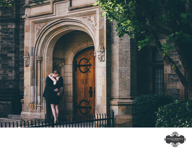 Trinity College Engagement Photography