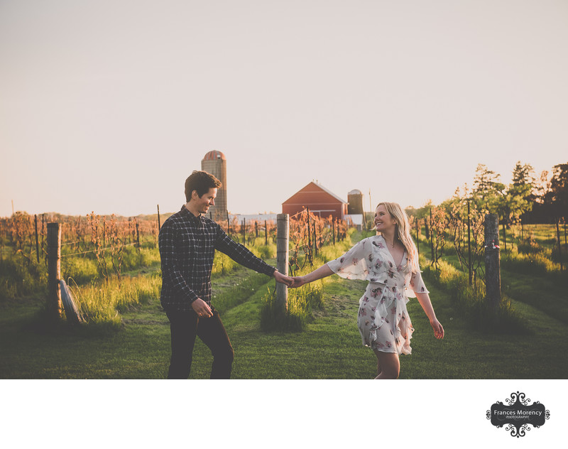 Barrie Farm Engagement Photographer