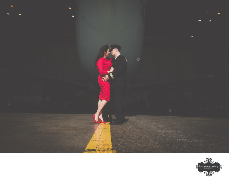 Toronto Airport Engagement Photographer