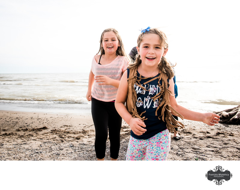 Family Photography at a Nearby Beach in Collingwood