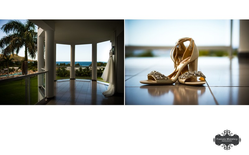 Shoe and Dress Photos: Costa Rica Wedding Photographer